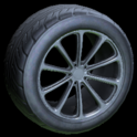 Dieci wheel icon grey