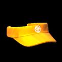 Visor topper icon orange