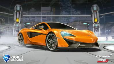McLaren 570S hero art