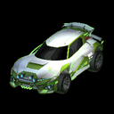 Mudcat GXT body icon lime