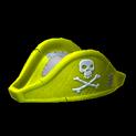 Pirates hat topper icon saffron
