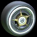 SLK wheel icon titanium white
