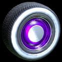 Ratrod wheel icon purple