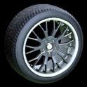 Sunburst wheel icon black