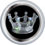 Silver Crown Topper