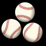 Baseball rocket boost icon