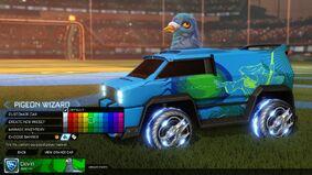 Player banner garage menu