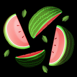 Watermelon rocket boost icon