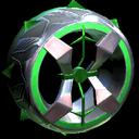 Blender wheel icon forest green