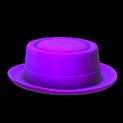 Pork pie topper icon purple