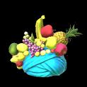 Fruit hat topper icon sky blue