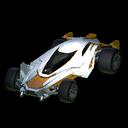Mantis body icon orange