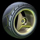 Troika wheel icon saffron