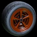 Veloce wheel icon burnt sienna