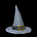 Witchs hat topper icon grey