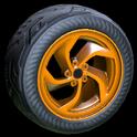 Vortex wheel icon burnt sienna