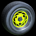Falco wheel icon lime
