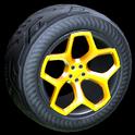 Spyder wheel icon orange