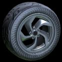 Vortex wheel icon black
