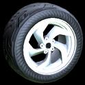 Vortex wheel icon titanium white
