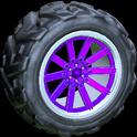 Almas wheel icon purple