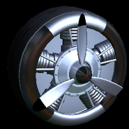 Propeller wheel icon black