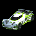 Ronin GXT body icon lime