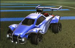 Anodized pearl paint finish preview