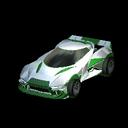 Insidio body icon forest green
