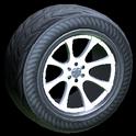Octavian wheel icon titanium white