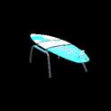 Surfboard topper icon sky blue