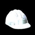 Hard hat topper icon titanium white