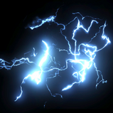 Lightning rocket boost icon