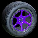 Neptune wheel icon purple