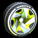Reaper wheel icon saffron