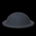 Brodie helmet topper icon black