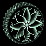 Mandala Infinite wheel icon