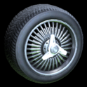 Lowrider wheel icon black