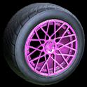 Tunica wheel icon pink