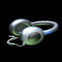 MMS Headphones topper icon cobalt