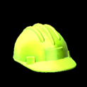 Hard hat topper icon lime