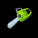 Chainsaw topper icon lime