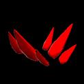 Stegosaur topper icon crimson