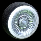 Ecto-1 wheel icon