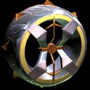 Blender wheel icon orange