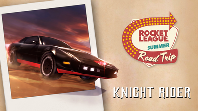 Knight Rider Bundle Summer Road Trip Promo Art