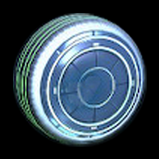 Samus' gunship wheel icon