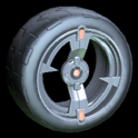 Zeta wheel icon burnt sienna