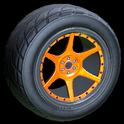 Neptune wheel icon orange