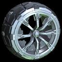 Truncheon wheel icon grey
